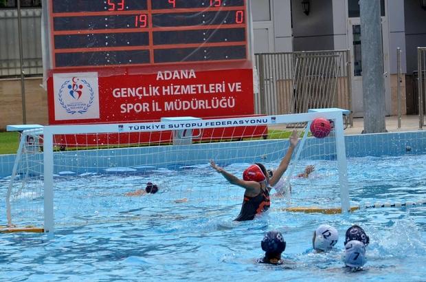 Adana'da Büyük Kızlar 2. Lig Sutopu Müsabakası sona erdi