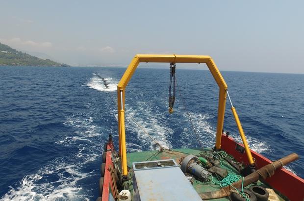 Denizden yüzdürülerek getirilen borular sorunu çözdü