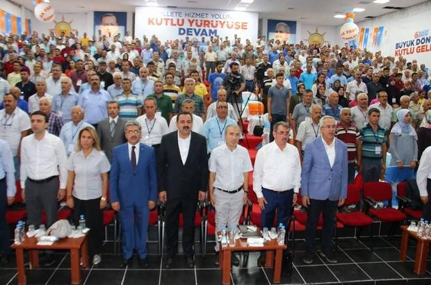 AK Parti Antalya kongreleri gerçekleştiren ilk il oldu