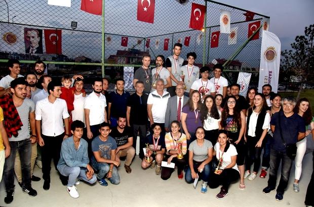 Kum voleybolu turnuvası sona erdi