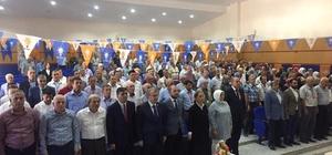 Başkan Yalçın, AK Parti Pazaryeri İlçe Başkanlığı 6. Olağan Kongresini değerlendirdi