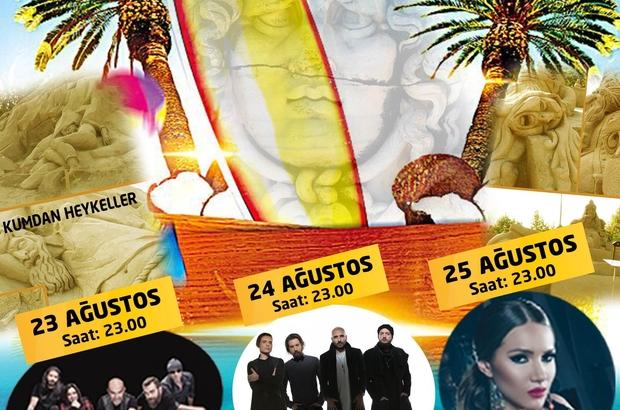 Büyükşehir Altınkum Plaj Festivali düzenliyor