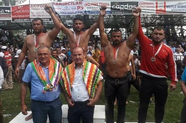 Ata sporunda Milaslı güreşçi üçüncü oldu