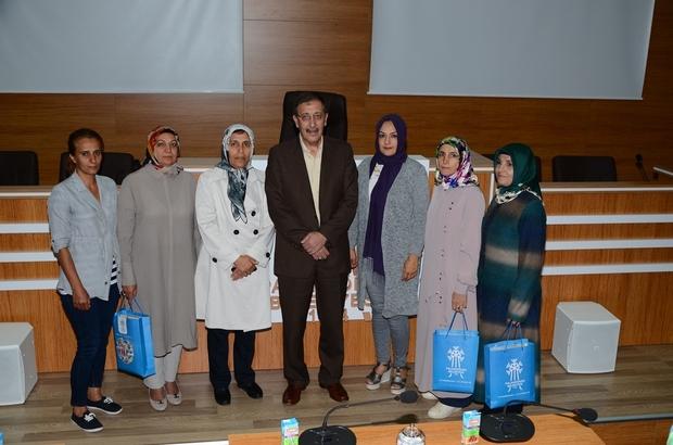 Belediye Başkanı Orhan Bulutlar, Ak Parti kadın kollarını ağırladı