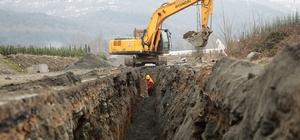 Yanık Mahallesi'nde kanalizasyon projesi tamamlanıyor