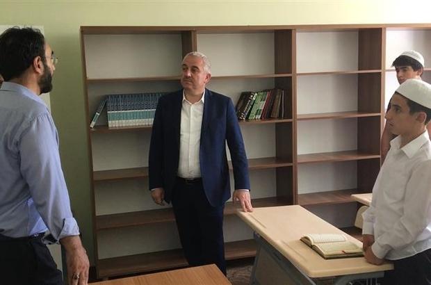 Genel Müdür İsmail Palakoğlu müftülük çalışmalarını yerinde inceledi
