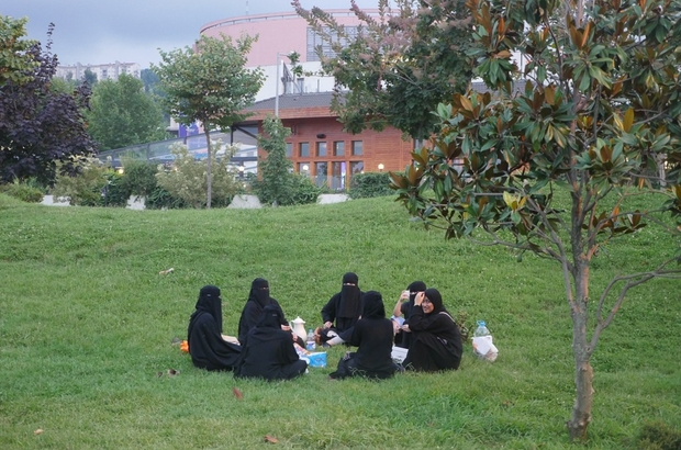 Trabzon'da Olimpiyat Parkı ve Sera Gölü'ne ziyaretçi akını