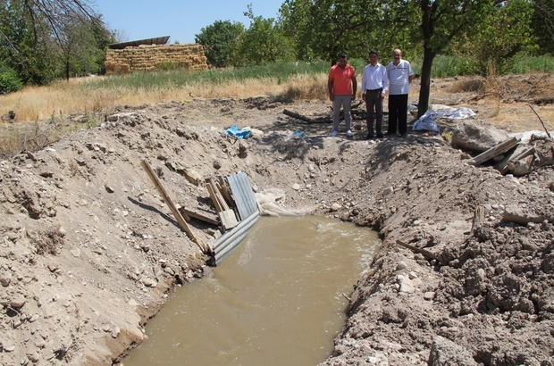 Malatya'da yaşanan sulama suyu sıkıntısı