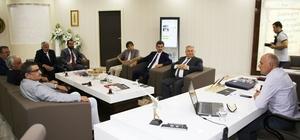 Türk Dili Heyetinden Başkan Çalışkan'a ziyaret