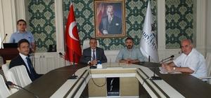 Turizm sektörünü canlandırma projesi toplantısı yapıldı