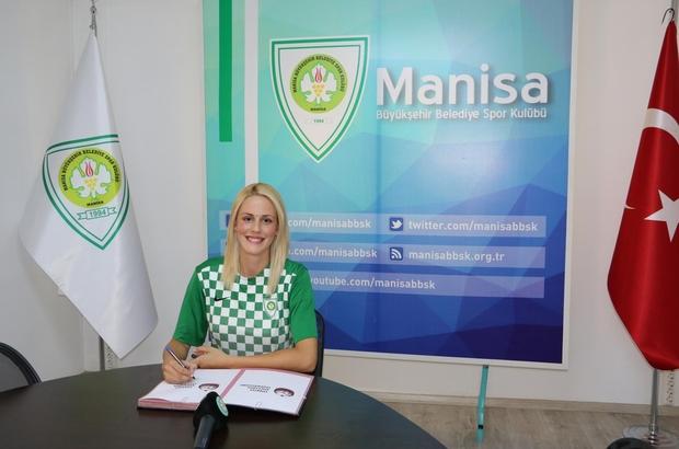 Melis Ece, yeniden Manisa Büyükşehir Belediyespor'da