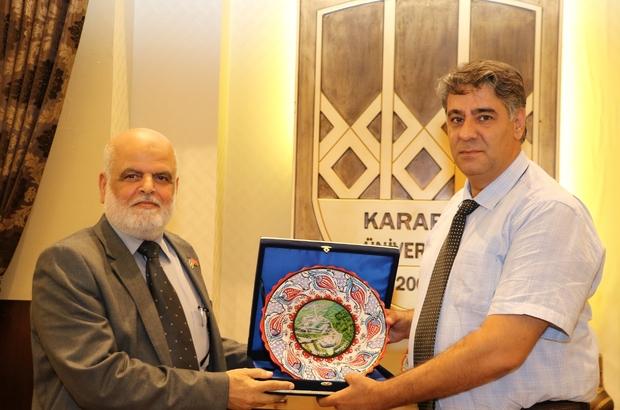 KBÜ'den Filistin'e eğitim desteği