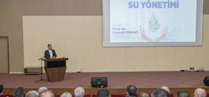 Türkiye'de ve Malatya'da Su Yönetimi paneli düzenledi