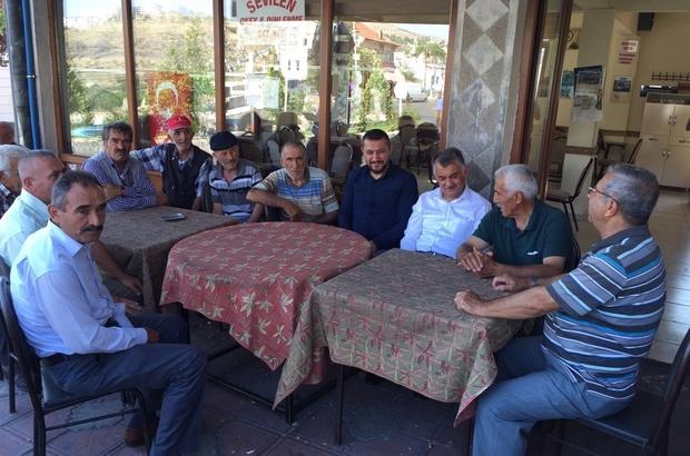 Milletvekili Açıkgöz, Nar ve Sulusaray kasabalarını ziyaret etti