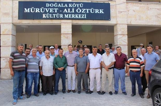 Milletvekili Gizligider Derinkuyu köylerini ziyaret etti