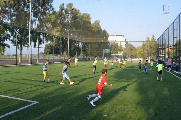 Koçarlı'da Kur'an kursu öğrencileri futbol turnuvasında boy gösterdi
