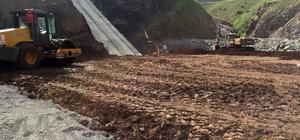 Erzurum Pehlivanlı Barajı'nda çalışmalar bütün hızıyla sürüyor