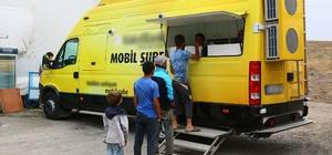 Keçiören Belediyesi'nden kurban alanında mobil banka