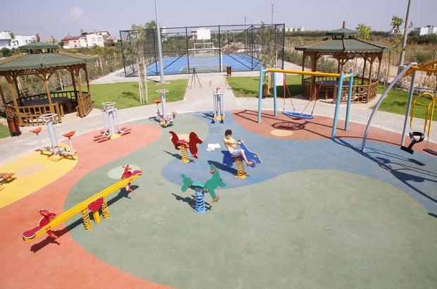 Döşemealtı Belediyesi'nden yeni nesil parklar