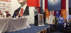 Aydemir Narman ilçe kongresinde konuştu