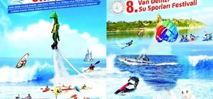 Van su sporları festivaline hazır