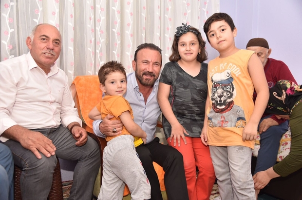 Doğan'dan Keskin ailesine geçmiş olsun ziyareti