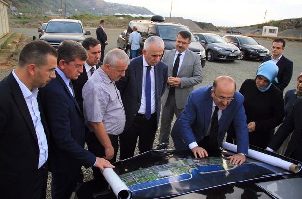 AK Parti Genel Başkan Yardımcısı Erol Kaya, Trabzon'daki yatırımları inceledi