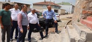 Başkan Baran Kışladüzü Mahallesi'nde incelemelerde bulundu