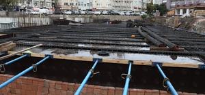 Otopark inşaatı çalışmaları devam ediyor