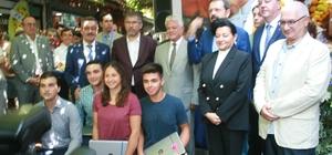 TOBB Başkanı Hisarcıklıoğlu, Marmaris Gastronomi Evinin açılışını gerçekleştirdi