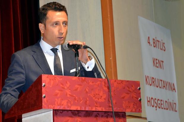 4'ncü Bitlis Kent Kurultayı neticelendi