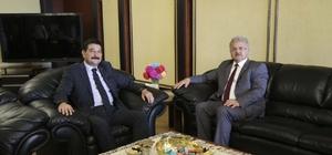 Rize Emniyet Müdürü Aksoy'dan Başkan Kasap'a veda ziyareti