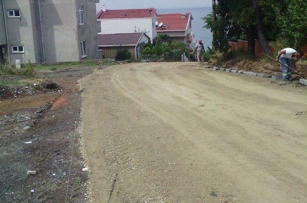 Akçakoca'da Sokak çalışmaları sürüyor