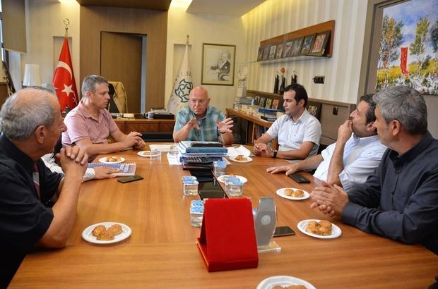 Başkan Eşkinat Mühendis Odaları yöneticileriyle bir araya geldi