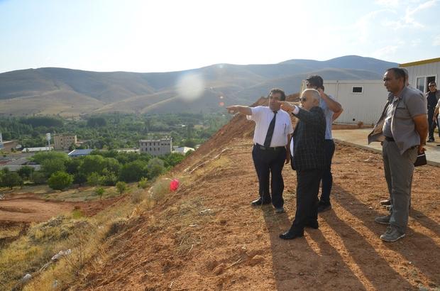 Vali Necati Şentürk, Emniyet Müdürlüğü yapılacak alanda inceleme yaptı