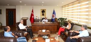 Mersin Yelken Yat ve Su Sporları Kulübü'nün yeni yönetiminden Çamsarı'ya ziyaret