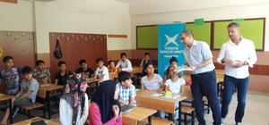 TÜGVA Siverek'in yaz okullarında eğitim sürüyor