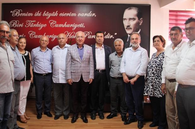 KTO Yönetim Kurulu Başkanı Hiçyılmaz'dan CHP İl Başkanı Keskin'e Nezaket Ziyareti