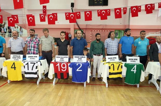 Yozgat'ta amatör spor kulüplerine malzeme desteği