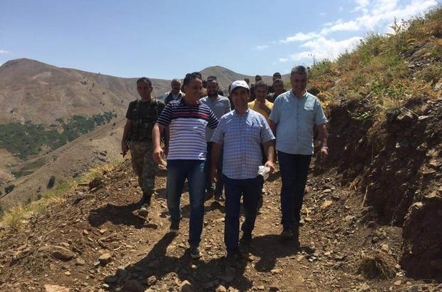 Mutki'deki sınır anlaşmazlığını Kaymakam çözdü