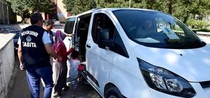Mobil Huzur Ekibinden dilencilere yönelik denetim