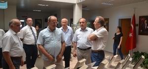 Rektör Uzun'dan Ulus'a ziyaret