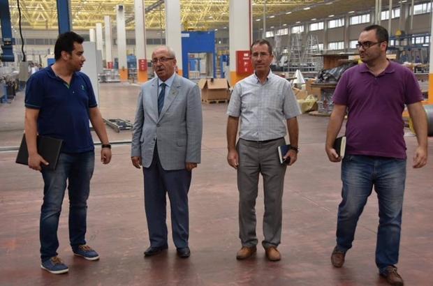 Başkan Albayrak'dan Çerkezköy OSB'deki fabrikaları inceledi