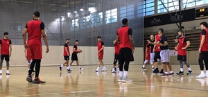 Eskişehir Basket'in çalışmaları sürüyor