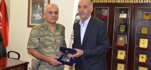 Özoğlu Paşa'dan ETSO'ya veda ziyareti