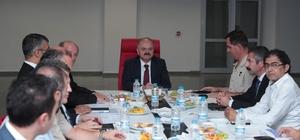 İl Spor Güvenlik Kurulu, Vali Çakacak başkanlığında toplandı