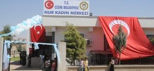 Cizre'de Nur Kadın Kültür Merkezi törenle hizmete açıldı