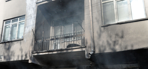 Kayseri'de iş yeri yangını