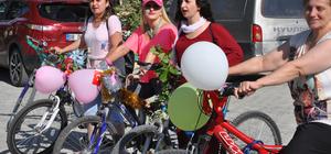 """Artvin'de """"Süslü Kadınlar Bisiklet Turu"""""""