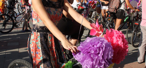 """Muğla'da """"Süslü Kadınlar Bisiklet Turu"""" düzenlendi"""